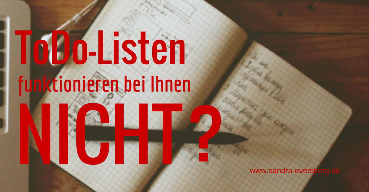 Wie to do Listen funktionieren